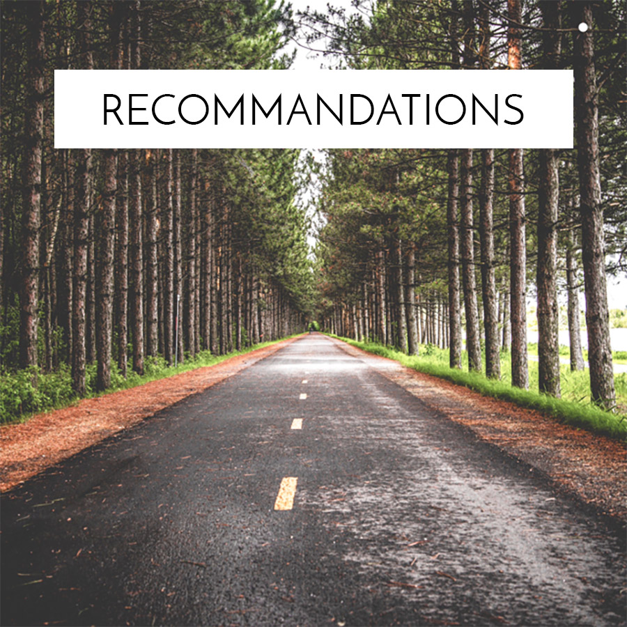 Recommandations Background Graphic